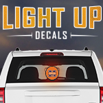 Light Up Decals Fundraising Program #LightUpDecal GreenBeeFundraising.com