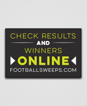 You can check Football Frenzy results and winners online #boosters GreenBeeFundraising.com