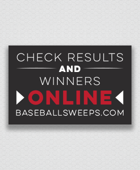 Check Results and Winners Online - Baseball Fever #GBFundraising GreenBeeFundraising.com