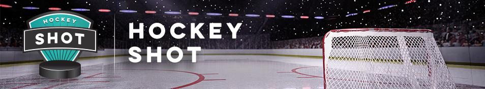 Hockey Shot Fundraising Banner #FundraisingIdeas GreenBeeFundraising.com